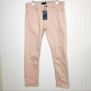 Five Four Robles Pink Slim Jeans NWT